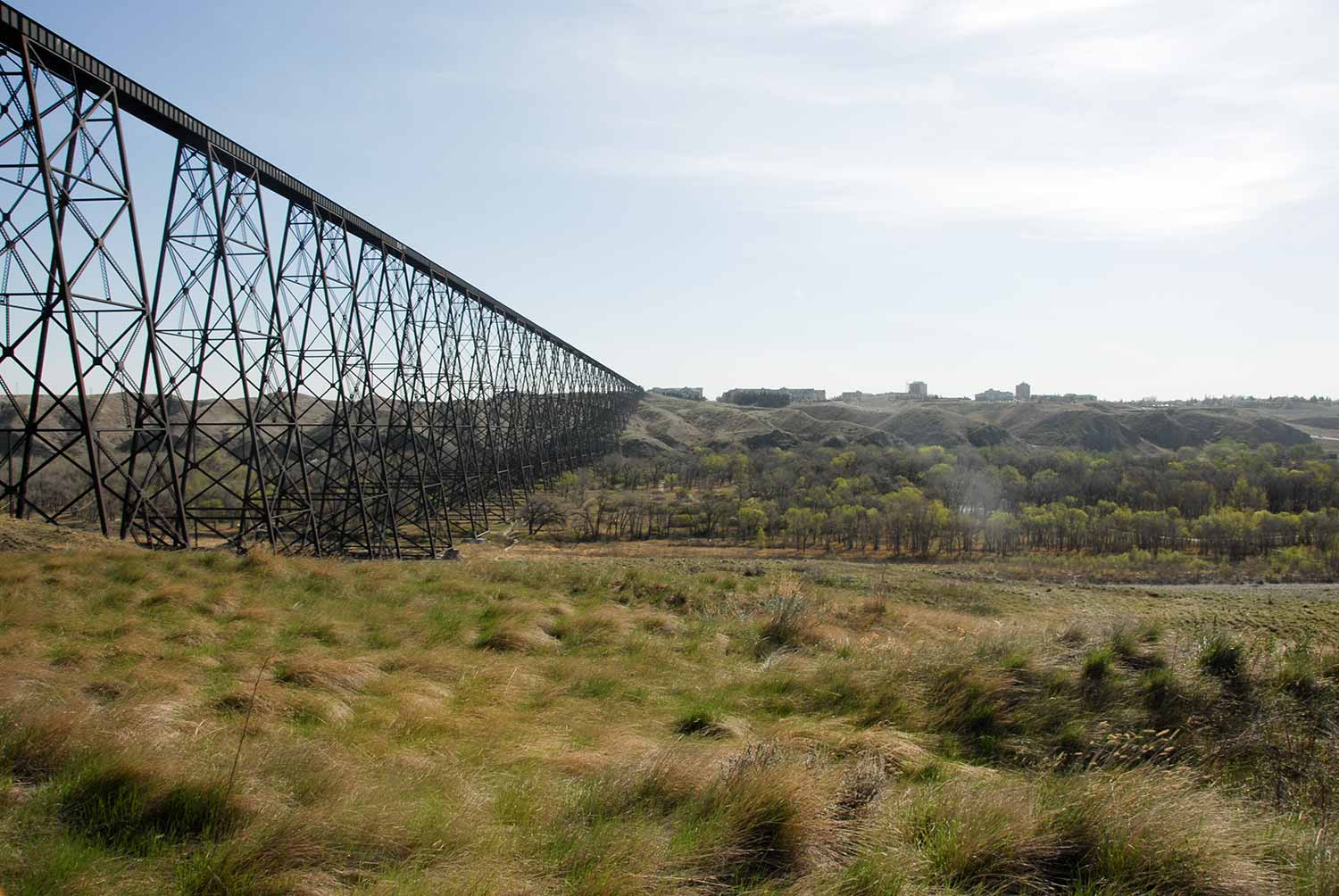 Lethbridge High Level Train Bridge
